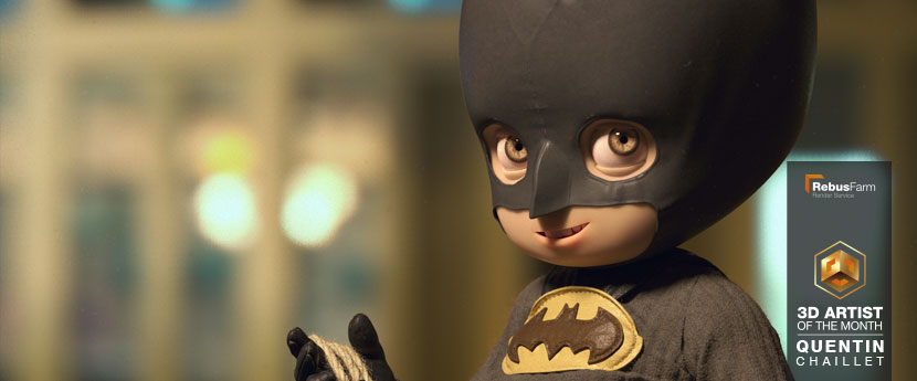 人物设计 |'Little Batman'(小蝙蝠侠)| Quentin Chaillet