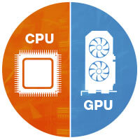 Render Cloud para CPU e GPU